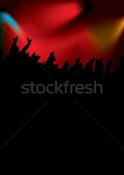 rock concert tall Stock photo © nicemonkey