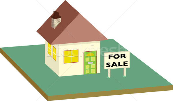 house for sale garden Stock photo © nicemonkey