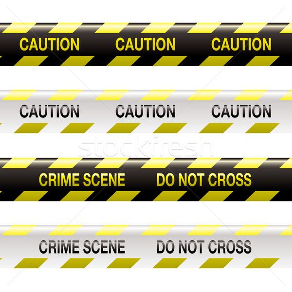 crime scene tape Stock photo © nicemonkey