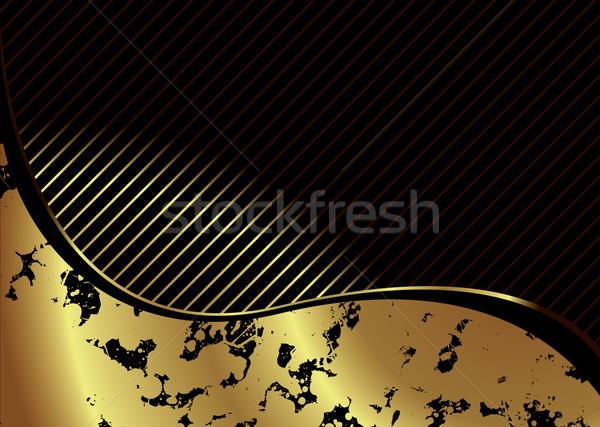 golden crackle Stock photo © nicemonkey