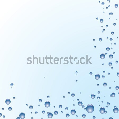subtle blue bubble Stock photo © nicemonkey
