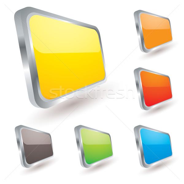 badge icon Stock photo © nicemonkey