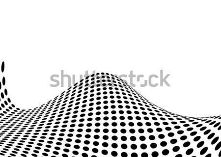 halftone swell Stock photo © nicemonkey