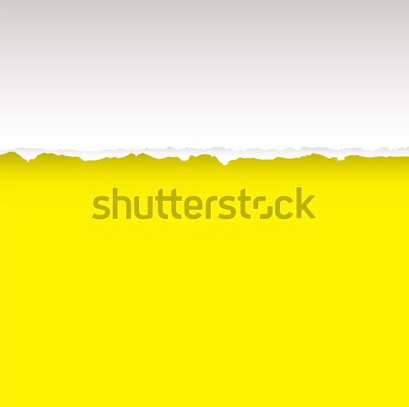 yellow tear divide Stock photo © nicemonkey