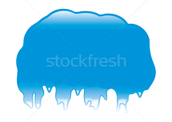 Blob dribble Stock photo © nicemonkey