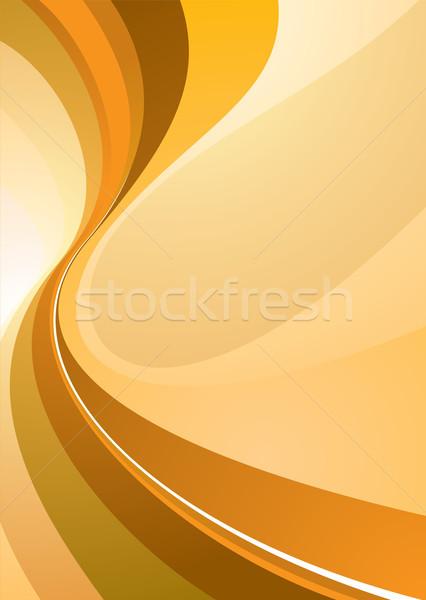 class divide orange Stock photo © nicemonkey