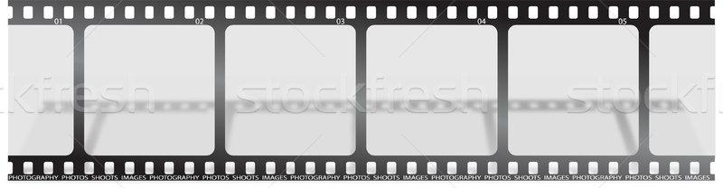 Stock fotó: Film · árnyék · darab · csepp · film · mozi