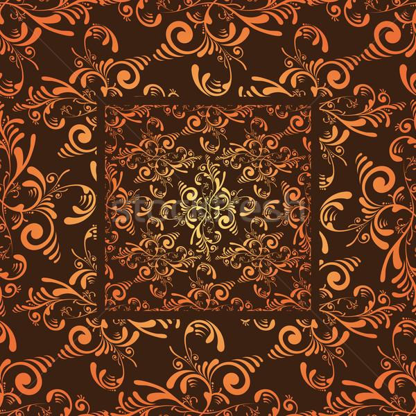 Oranje tegel grunge naadloos Stockfoto © nicemonkey