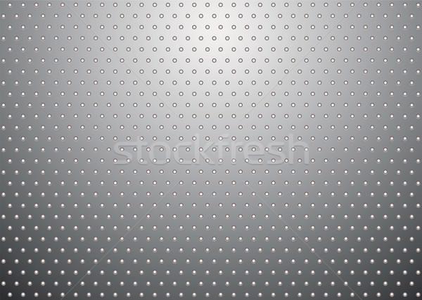 silver metal background bobble Stock photo © nicemonkey