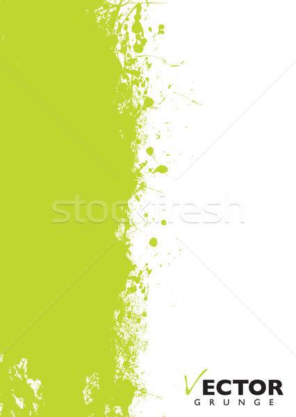 Green splat grunge Stock photo © nicemonkey