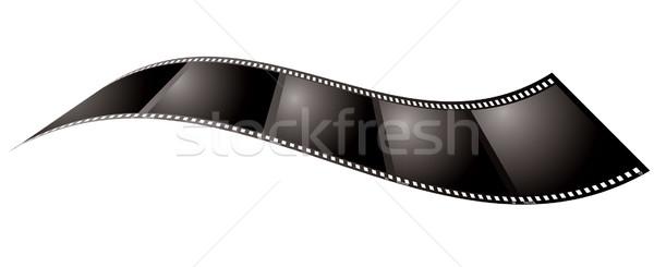 Film pihen illusztrált darab használt hely Stock fotó © nicemonkey