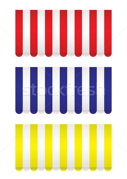 коллекция магазин красный синий желтый Сток-фото © nicemonkey
