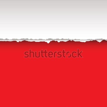 red tear divide Stock photo © nicemonkey