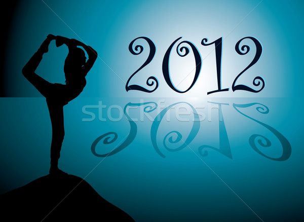 Yoga 2012 Stock photo © nicemonkey