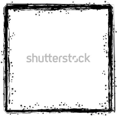 inky border 1 Stock photo © nicemonkey