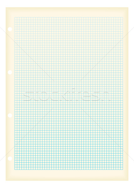 grunge a4 graph paper square Stock photo © nicemonkey