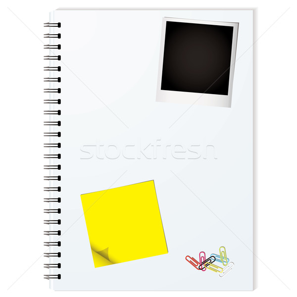 elements binder Stock photo © nicemonkey