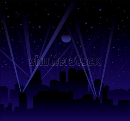 search light skyline Stock photo © nicemonkey