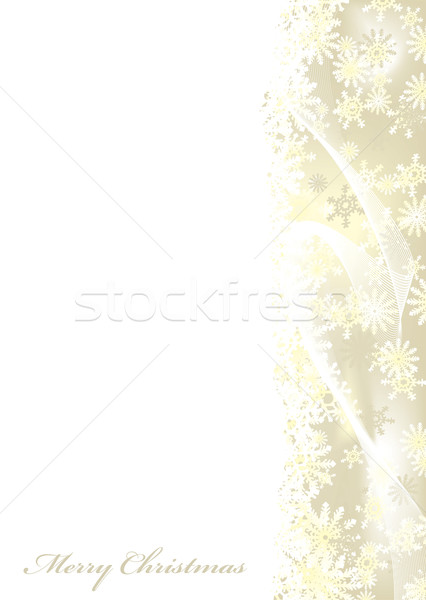 Merry Christmas gold Stock photo © nicemonkey