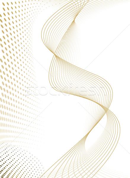 Extra áramlás spray arany folyik vonalak Stock fotó © nicemonkey