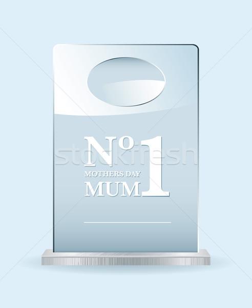 Number one mothers award Stock photo © nicemonkey