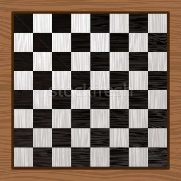 Black and white chess board Stock photo © nicemonkey
