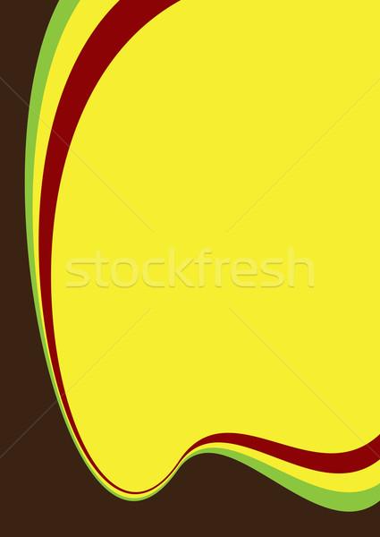 Kontrast kolory streszczenie kopia przestrzeń tle tapety Zdjęcia stock © nicemonkey