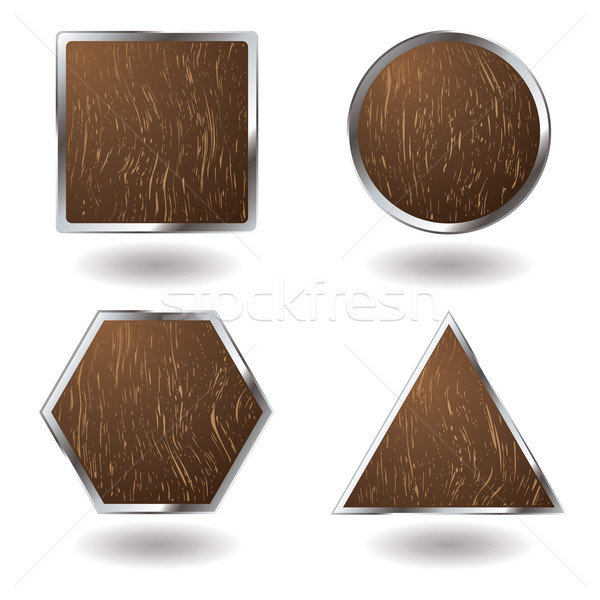 wood button variation Stock photo © nicemonkey