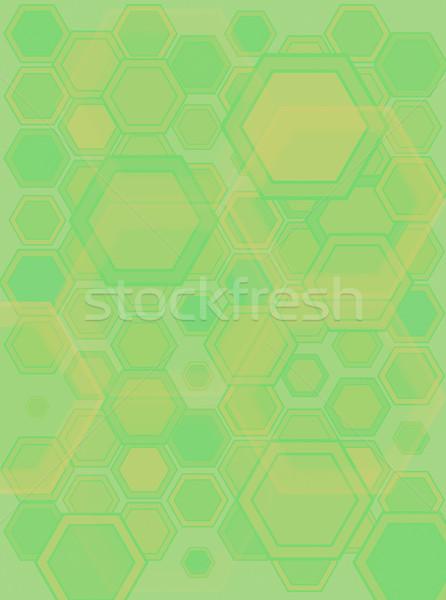 hexa gone green Stock photo © nicemonkey