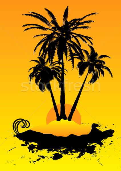 holiday destination hot Stock photo © nicemonkey