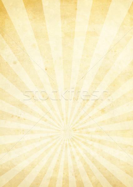 radiate crinkled cream Stock photo © nicemonkey