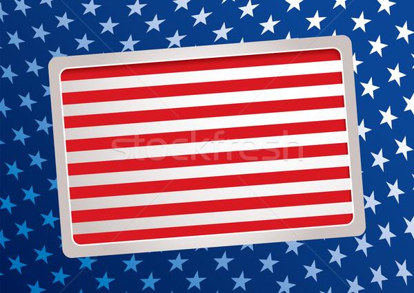 American inspired background Stock photo © nicemonkey