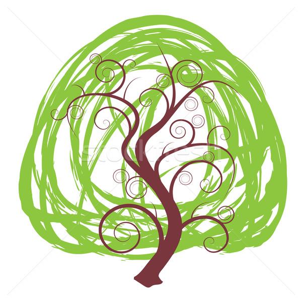 Scribble tree Stock photo © nicemonkey