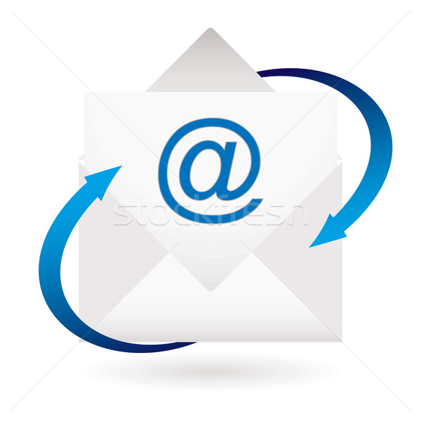 email arrow envelope Stock photo © nicemonkey
