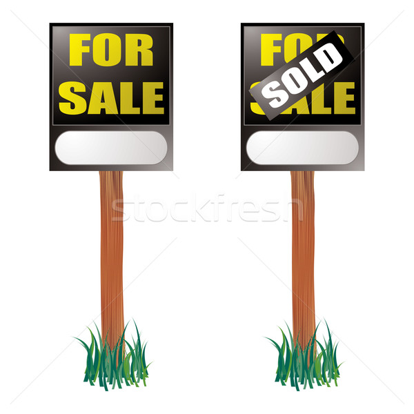for sale sign Stock photo © nicemonkey