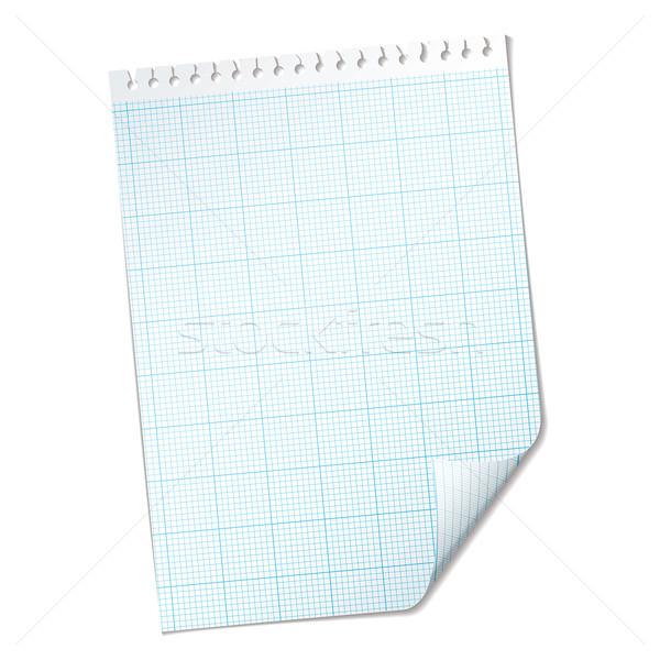 ripped sheet grid Stock photo © nicemonkey