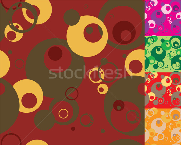 seventies variation round Stock photo © nicemonkey