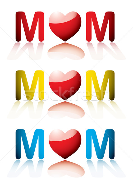 love mum collection Stock photo © nicemonkey