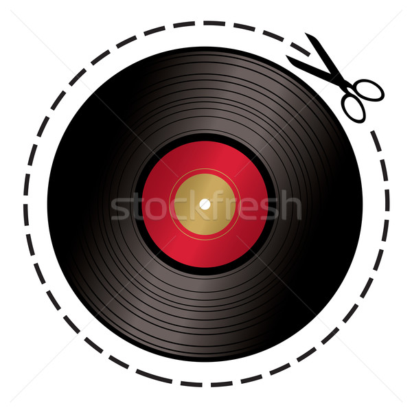 cut out music token Stock photo © nicemonkey