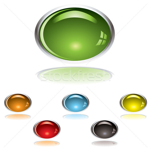 lozenge gel button Stock photo © nicemonkey