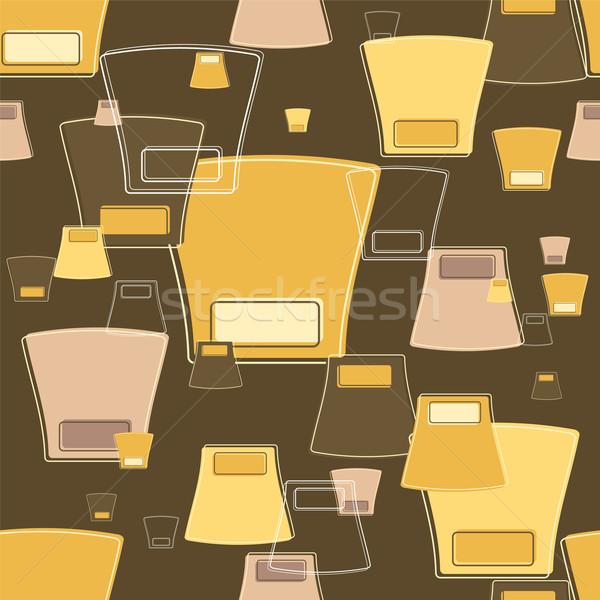 семидесятые годы аннотация обои дизайна различный цвета Сток-фото © nicemonkey