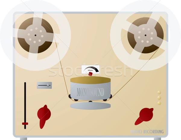 audio recorder Stock photo © nicemonkey