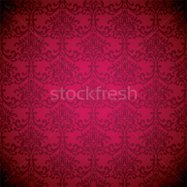 Magenta sueno wallpaper floral sin costura repetir Foto stock © nicemonkey