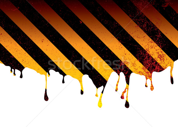 warning dribble blood Stock photo © nicemonkey