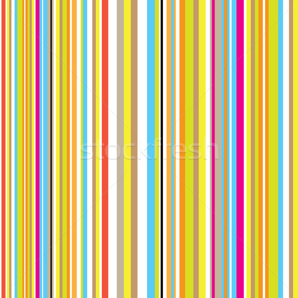 Stock photo: candy stripe retro