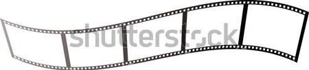 映画 波 図示した 作品 中古 場所 ストックフォト © nicemonkey