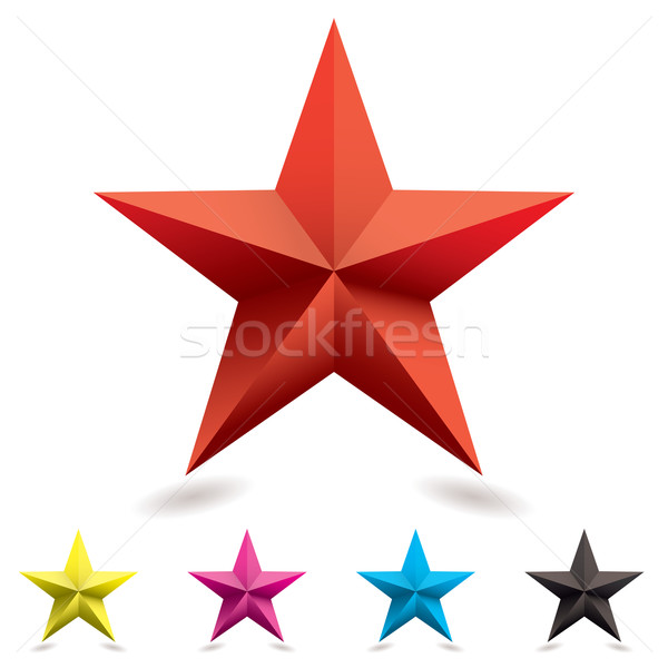web icon star shape Stock photo © nicemonkey