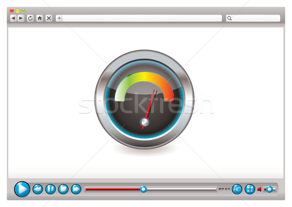 Web video browser speed Stock photo © nicemonkey