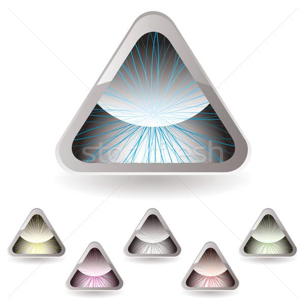 triangle iris Stock photo © nicemonkey