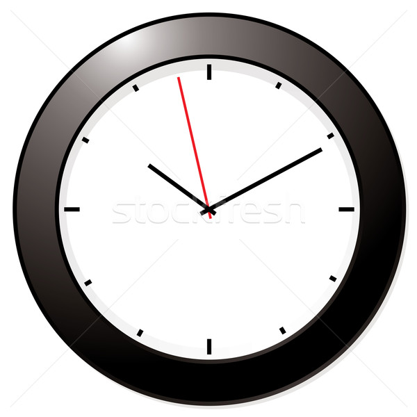 modern mono clock Stock photo © nicemonkey